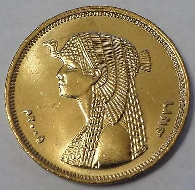 2005 Egypt, 50 Piastres, Cleopatra, From Mint Bag, High Grade