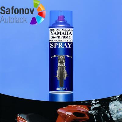 QLS Motorradlack Yamaha 564/DPBMC deep purplish blue met  Spray 400 ml *QLSMSY56