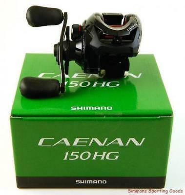 SHIMANO CAENAN 150HG - Current Model - Baitcaster Reel - Boxed NEW !
