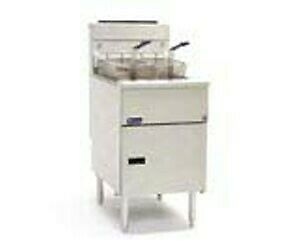 Pitco Solstice Series Fryers Stand Alone Gas Fryers SG18S