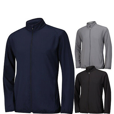 2015 Adidas Solid Full Zip Wind Golf Jacket CLOSEOUT NEW