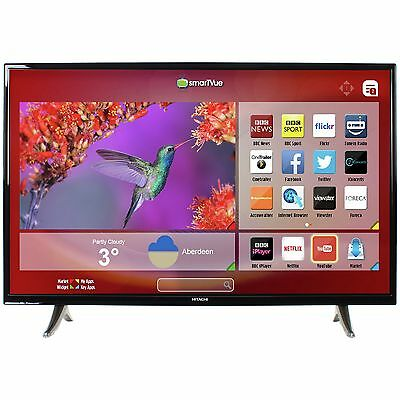 Hitachi 43 Inch LED Full HD 1080P Freeview HD Smart TV :The Official Argos Store