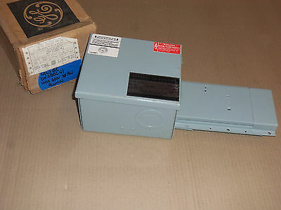 New General Electric Ge Dh Dh1Bbc41 100 Amp 600V End Tap Box Flex-A-Power