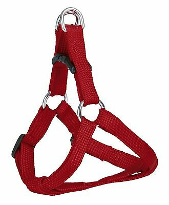 Trixie Nylon Soft Red Puppy Small Dog Harness S 15363