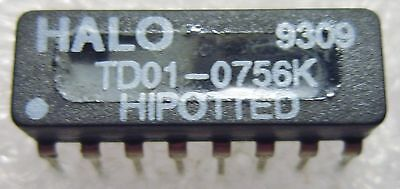 Td01-0756K Halo Dual Inline Insertion Telecom Transformer Hipotted 3-Pc Lot