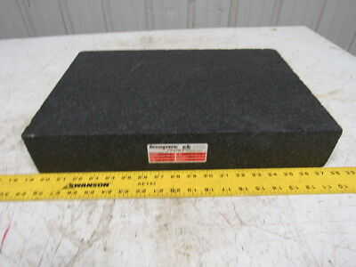 "12"" x 18"" x 3"" Granite Surface Plate Black"