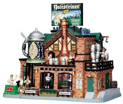 Lemax 2015 Yulesteiner Brewery #05073 REPAIRED FREE SHIPPING 48 STATES