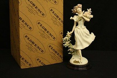 Florence Giuseppe Armani 0317F Spring Time Figurine Hand Painted New In Box