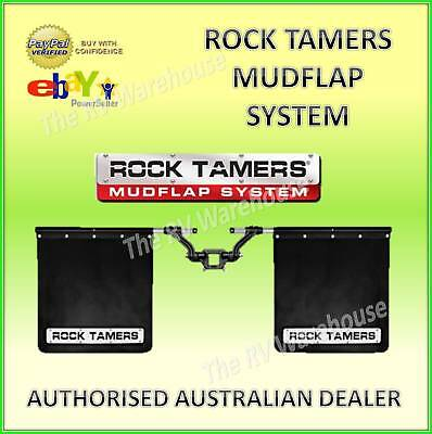 ROCK TAMERS New Mudflap System Free Safety Kit 4WD Truck Car Caravan 4x4 Accesso