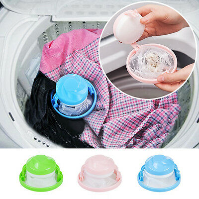 Home Washing Machine Laundry Supplies Floating Lint Mesh Pouch Filter Bag