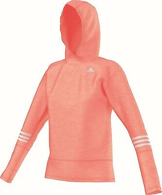 adidas Damen Lauf Fitness Kapuzen Sweat Response Icon Hoody W orange