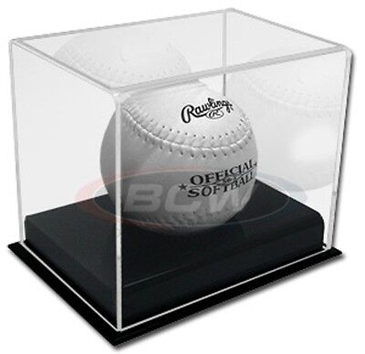 BCW Deluxe Acrylic Softball Holder Display Case