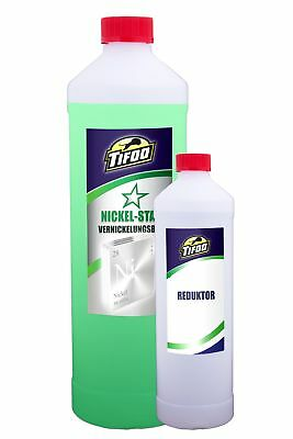 Nickel-Star + Reduktor (1000 ml + 250 ml) - Alternative zu Nickel-Elektrolyt