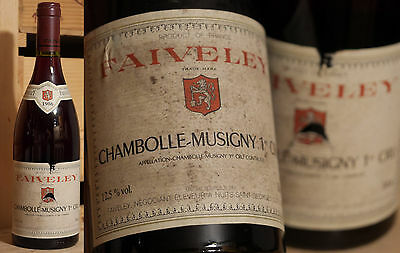 1986er Chambolle Musigny - 1er Cru - Domaine Faiveley  !!!!!!!