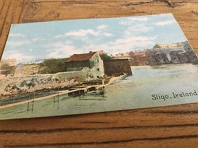 Old  Postcard Sligo  Ireland