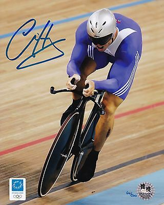 Chris Hoy-Olympics-Athens 2004-Official Team Gb Signed Photograph-Aftal/uacc Rd