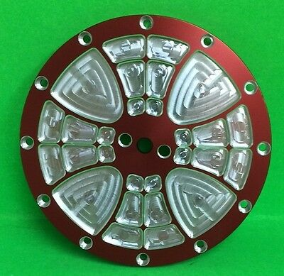 Jr. Dragster Polar Primary Clutch Cover - Red Maltese design