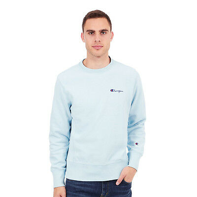 Champion - Crewneck Sweater Promise Blue Pullover Rundhals