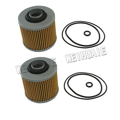 2 pcs  Motorcycle Oil Filter Replace Fram CH6004 oil filter