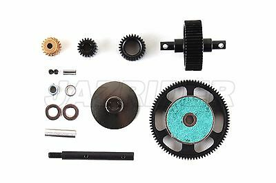 Jazrider Heavy Duty Steel Gear Set For Axial SCX10 Honcho/Dingo/Jeep/Deadbolt
