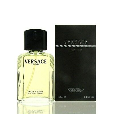 Versace L Homme Eau de Toilette Spray 100 ml EDT NEU OVP