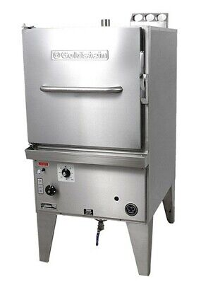 GOLDSTEIN ATMOSPHERIC STEAMERS ELECTRIC - includes perforated steam trays AS-12