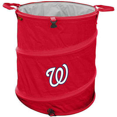 Washington Nationals Collapsible 3-in-1 Trashcan Cooler - MLB