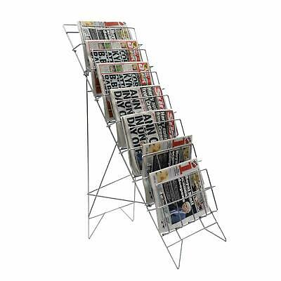 Newspaper Rack/Stand for Shops, Service Station, Newsagents (S1)
