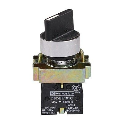 NEW 1X BD41 XD2-BD41 2 Position NO Spring Reset Momentary Select Selector Switch