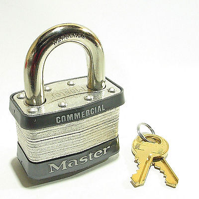 Master Lock 5KA A418 Keyed Alike OVERSTOCK CLEARANCE SPECIAL Laminated Steel