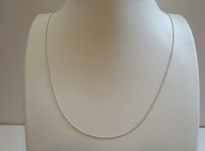 Italian Made 925 Sterling Silver Ladies Designer Rollo Style Chain /18 Inch Long