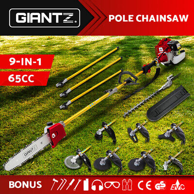 NEW Pole Chainsaw Hedge Trimmer Whipper Brush Cutter Pruner Snipper Multi Tool
