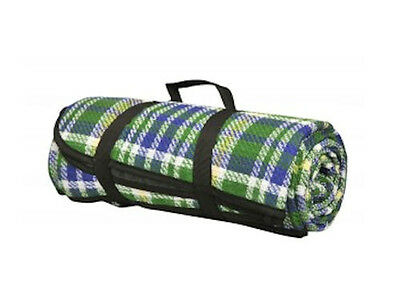 Horse & Western Tack Picnic Travel Accessories Easy Roll-Up All Purpose Blanket