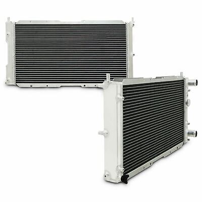40mm TWIN CORE ALUMINIUM ALLOY SPORT RADIATOR RAD FOR FIAT PUNTO GT TURBO 1.4