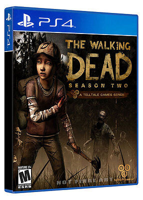 The Walking Dead Season Two 2 PS4 Game Brand New Sealed