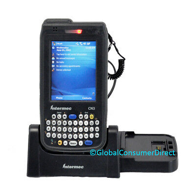 Intermec CN3 Mobile Computer 1D/2D PDA Scanner MINT Condition +CRADLE +WARRANTY!