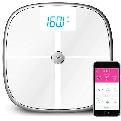 Koogeek Bluetooth WiFi Weight Scale Body Health BMR BMI Fat Muscle Scale Q5T1