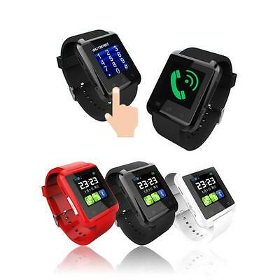 Sports Smart Bluetooth Watch GSM Camera Heart Rate Detection For Smartphone Lot