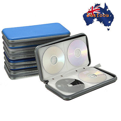1pc 80x Disc CD DVD Portable Storage Case Wallet Hard Box Bag Holder NewOUO DS