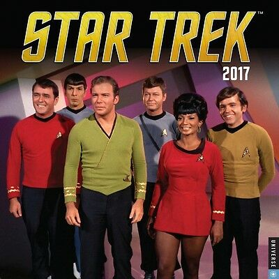 Star Trek the Original Series Wall Calendar