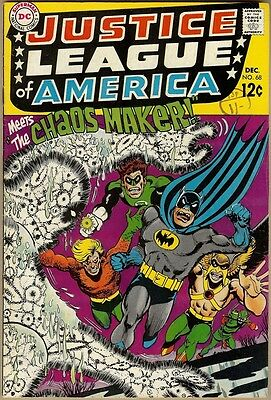 Justice League Of America #68 - VG+