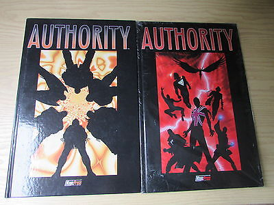 the absolute AUTHORITY volumi 1 e 2 - 2001 - magic press - L1 -