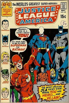 Justice League Of America #89 - VG+