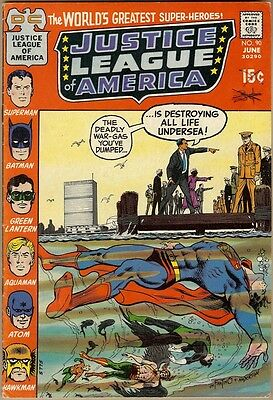 Justice League Of America #90 - FN-