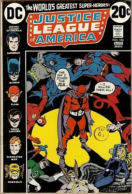 Justice League Of America #106 - FN