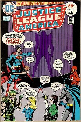 Justice League Of America #117 - VF