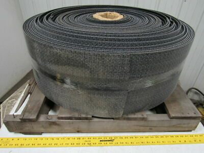 "1 Ply Black Rough Top Incline Conveyor Belt 314' X 12"" X 0.245"" Thick"
