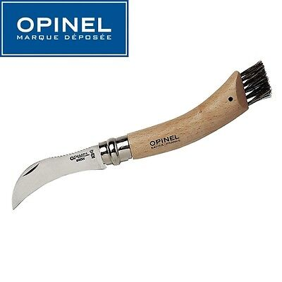Couteau A Champignons - Opinel N° 8 - Lame Inox 7 Cm