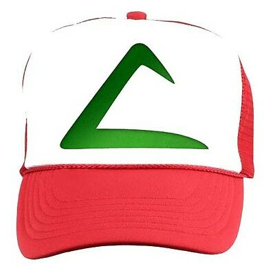 ASH KETCHUM HAT Pokemon Go Trainer Amine CAP Cosplay Accessory halloween  Costume a29e71658acc