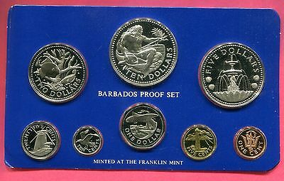1975 Barbados Proof Set